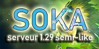 Soka-Semi-Like 1.29| MAJ QUÊTE OCRE|Drop + Craft + FM | Kralamoure